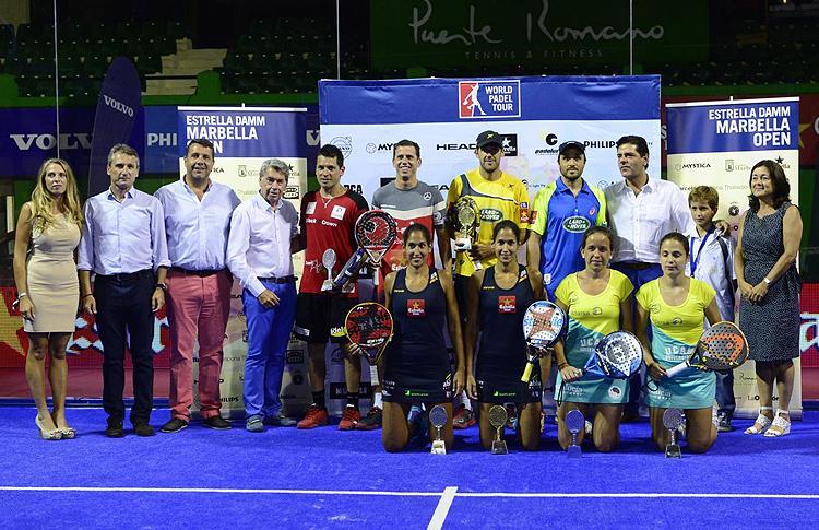 Ganadores y finalistas del Estrella Damm Marbella Open