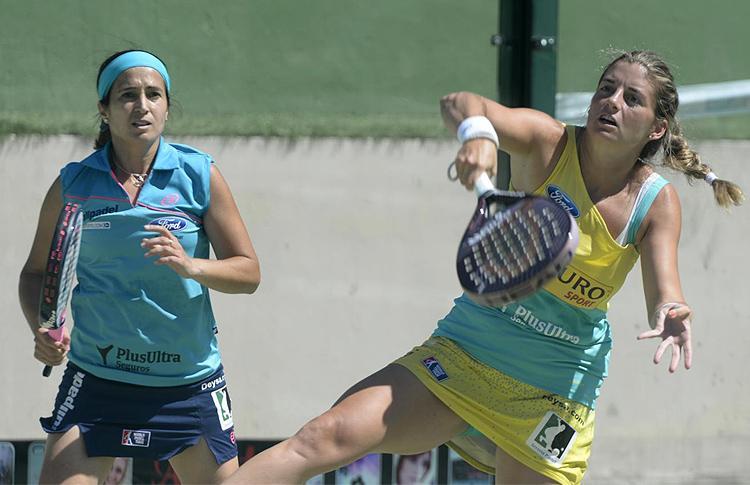 Icíar Montes y Alejandra Salazar, en el WPT Marbella