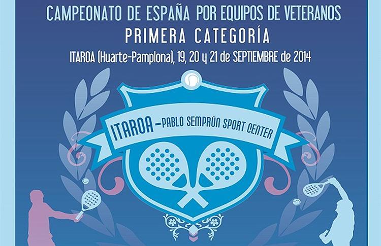 Cpto España de Veteranos 1ª Categoria 2014