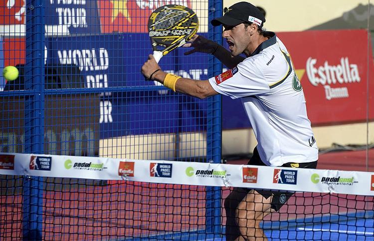 Juan Martín Díaz, en el Estrella Damm Marbella Open