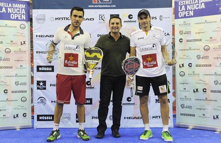 Pablo Lima e Juani Mieres, campioni di Estrella Damm La Nucía Open