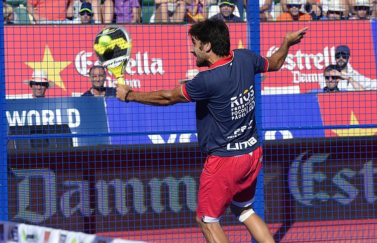 Pablo Lima, en el Estrella Damm Marbella Open