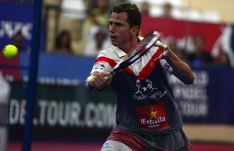 Paquito Navarro, en el Estrella Damm Marbella Open
