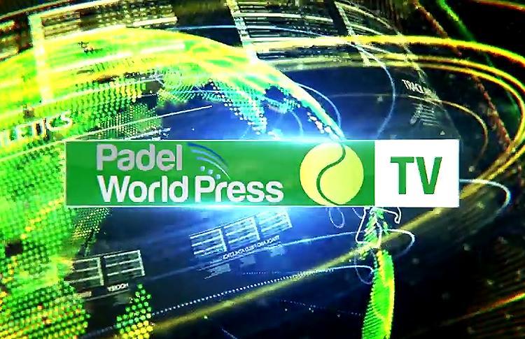 Primer vídeo Padel World Press TV