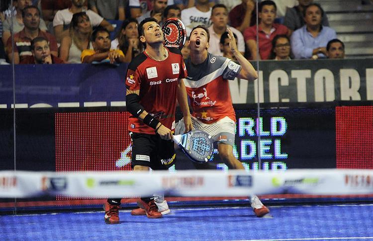 Paquito Navarro y Tito Allemandi, en el Estrella Damm Marbella Open