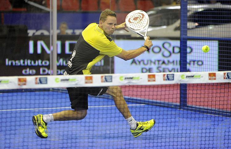 Aday Santana, en el Estrella Damm Sevilla Open