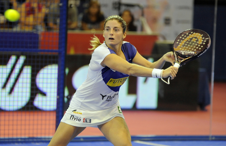 Alejandra Salazar, en el Estrella Damm Sevilla Open