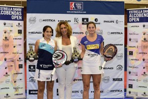 Icíar Montes y Alejandra Salazar, ganadoras del Estrella Damm Alcobendas Open