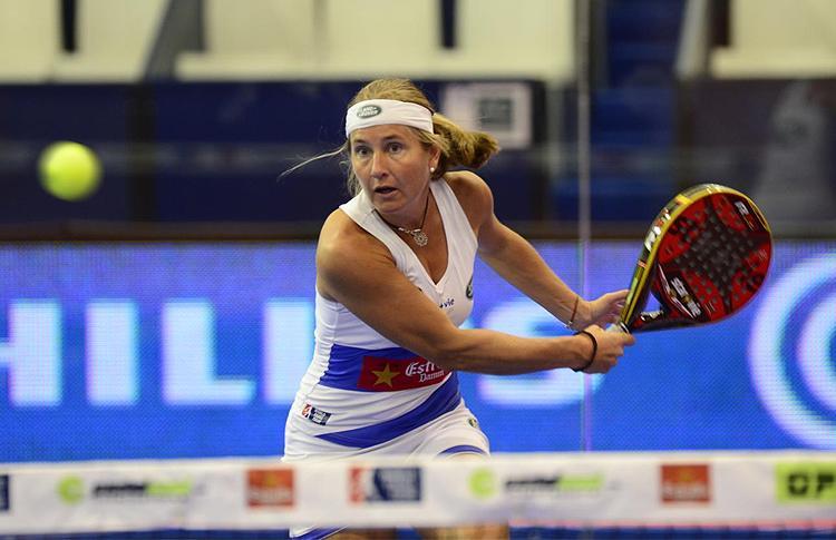 Carolina Navarro, en el Estrella Damm Alcobendas Open