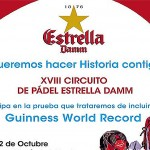 Cartel Circuito Estrella Damm - Sanset Pádel