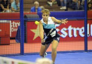 Cata Tenorio, en el Estrella Damm Sevilla Openn el Estrella Damm Sevilla Open