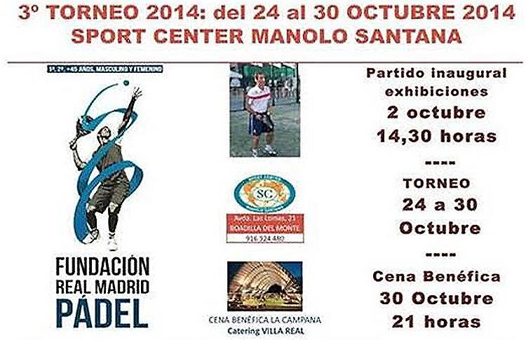 Cartel IIIº Torneo Fundación Real Madrid