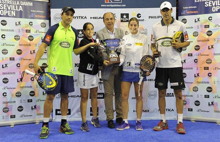 Ganadores Estrella Damm Sevilla Open