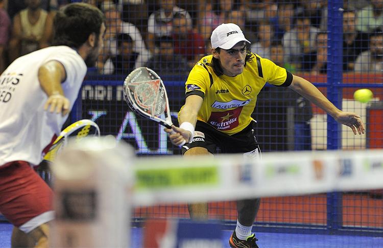 Pablo Lima y Juani Mieres, en el Estrella Damm Sevilla Open