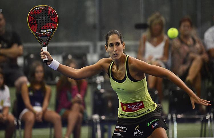 Majo Sánchez Alayeto, en el Estrella Damm Alcobendas Open