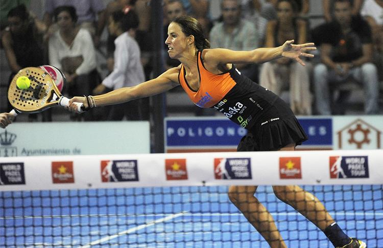 Marta Marrero, en el Estrella Damm Sevilla Open