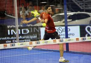 Maxi Sánchez, en el Estrella Damm Sevilla Open