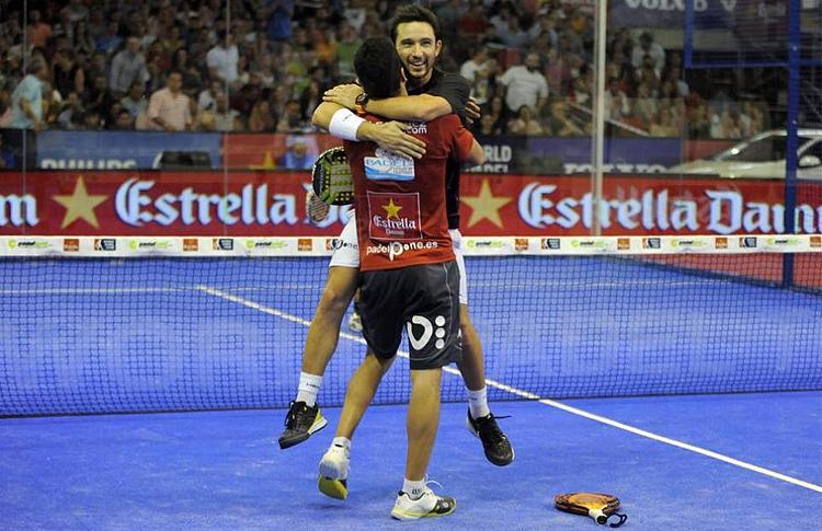 Sanyo Gutiérrez y Maxi Sánchez, en el Estrella Damm Sevilla Open