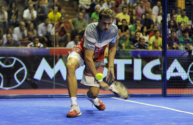 Paquito Navarro, en el Estrella Damm Sevilla Open