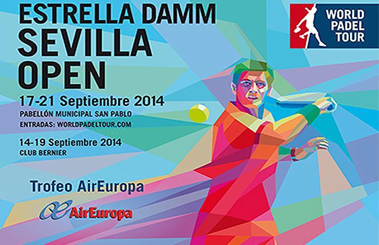 Cartel del Estrella Damm Sevilla Open