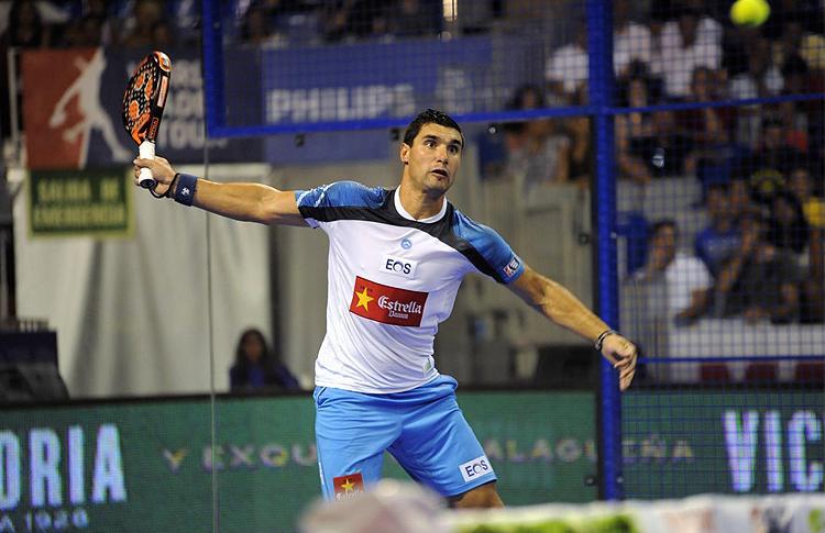 Agustín Gómez Silingo, en el Estrella Damm Málaga Open