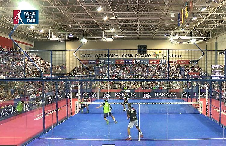 Fernando Belasteguín-Juan Martiz Díaz vs Cristian Gutiérrez-Matias Díaz en el WPT La Nucia