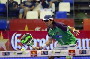 Blanco Antelo, en el Estrella Damm Tenerife Open