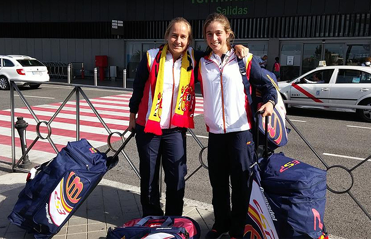 Carolina Navarro-Marta Ortega, listas para el Mundial 2014