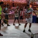 Juan Martín Díaz y Agustín Gómez Silingo, en el Mercado Central de Valencia