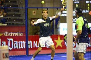 Juan Martín Díaz, en el Estrella Damm Tenerife Open