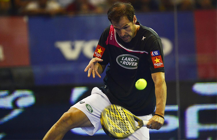 Juan Martín Díaz, en el Estrella Damm Córdoba Open