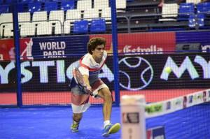 Juan Lebrón, en el Estrella Damm Tenerife Open