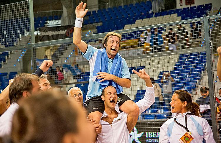 Maxi Grabiel y Seba Nerone, héroes de Argentina en el Mundial 2014