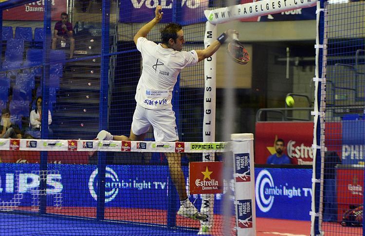 Fernando Poggi, en el Estrella Damm Tenerife Open