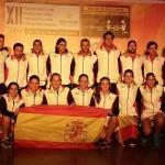España, en la presentación del Mundial