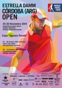 Cartel Estrella Damm Córdoba (Argentina) Open