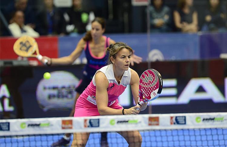 Cata Tenorio y Marta Marrero, en el Estrella Damm Valencia Open
