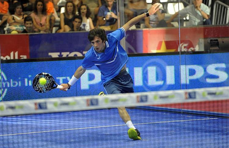 Franco Stupaczuk, en el Estrella Damm Córdoba (Argentina) Open