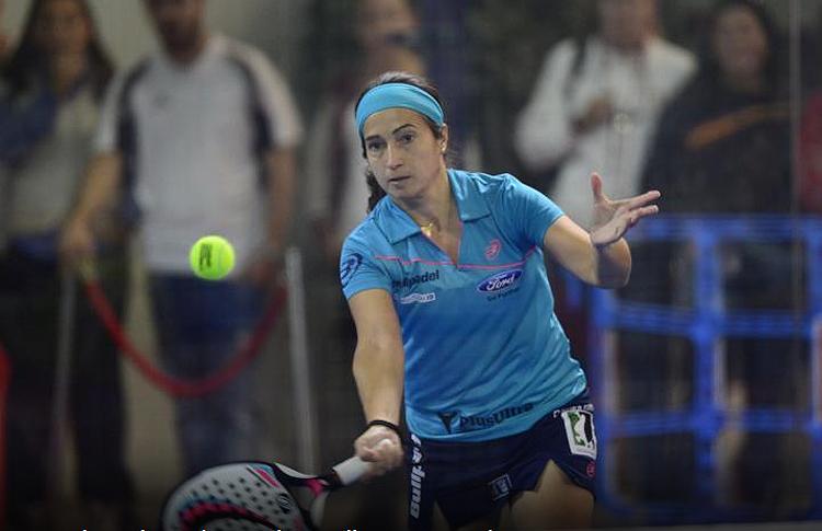 Icíar Montes, en el Estrella Damm Valencia Open