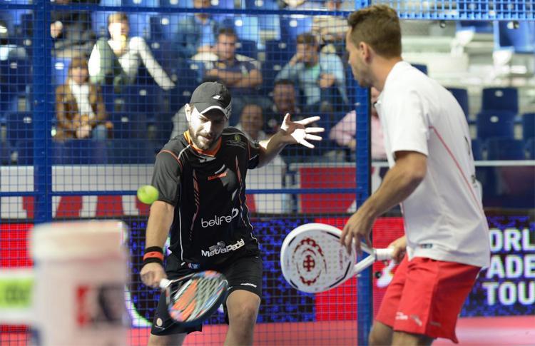 Aday Santana y Jordi Muñoz, en el Estrella Damm Valencia Open
