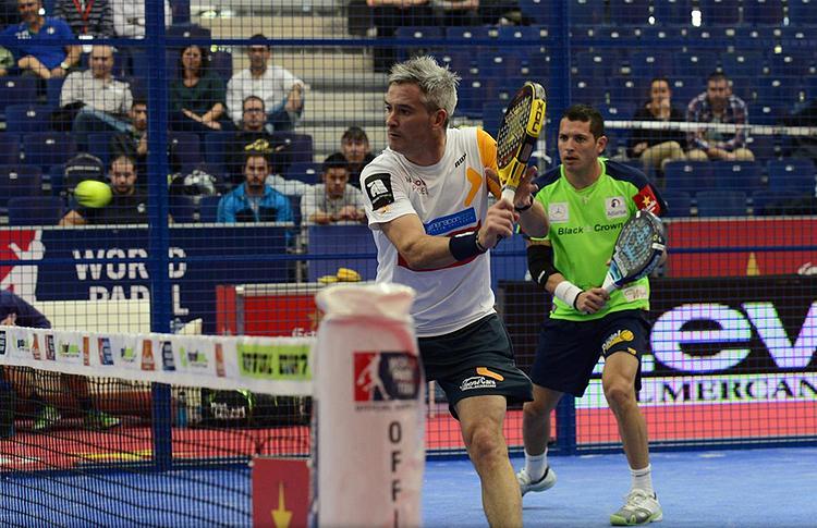 Miguel Lamperti-Tito Allemandi, en el Estrella Damm Valencia Open