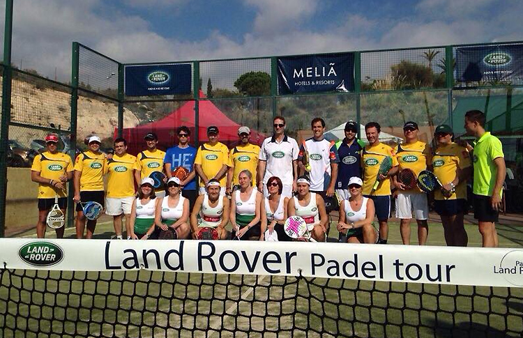 Foto de Familia del Masters Land Rover Pádel Tour