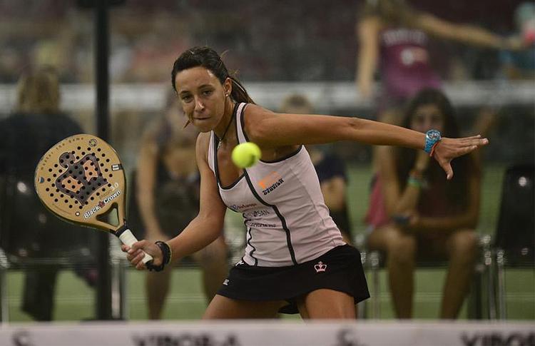 Marta Marrero, en el Estrella Damm Valencia Open