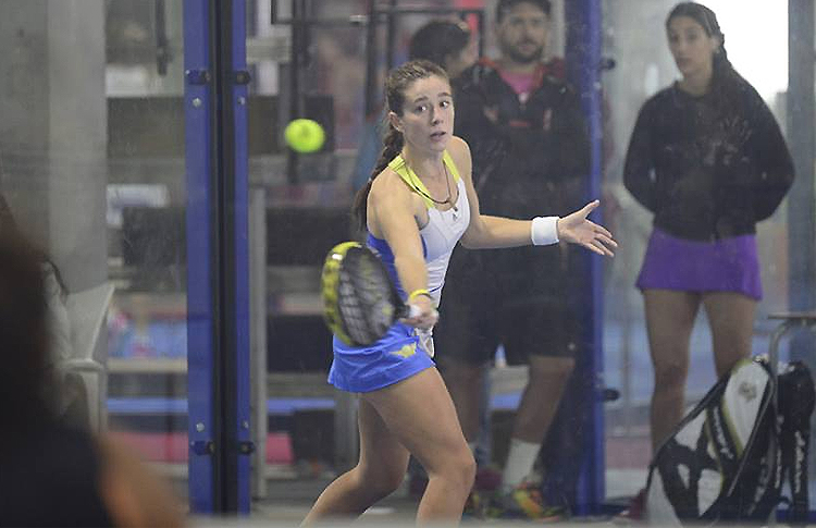 Marta Ortega, en el Estrella Damm Valencia Open