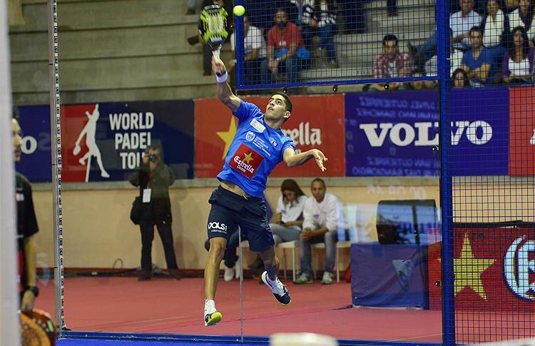 Maxi Sánchez, en el Estrella Damm San Fernando Open