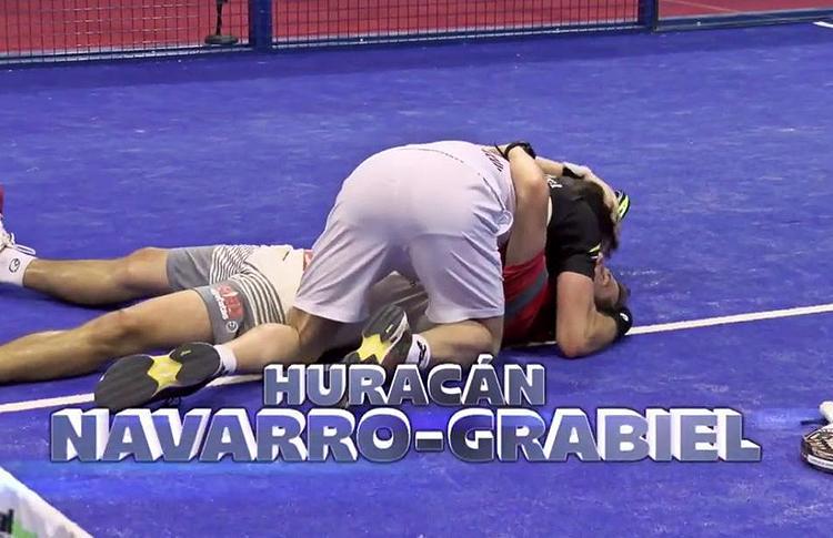 Paquito Navarro y Maxi Grabiel, en el Estrella Damm San Fernando Open