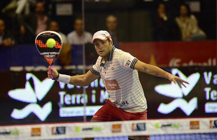 Seba Nerone, all'Estrella Damm Valencia Open