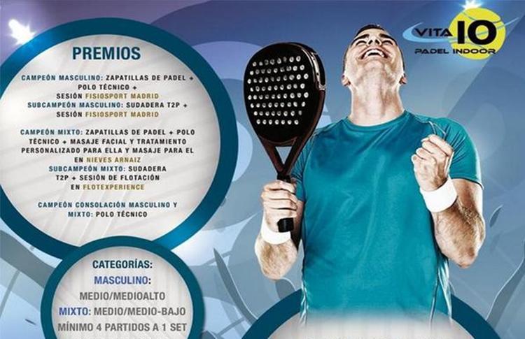Cartel Torneo Time2Pádel en Vita10