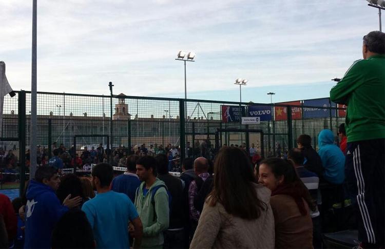 Mucho público en el Estrella Damm San Fernando Open desde Pre-Previa