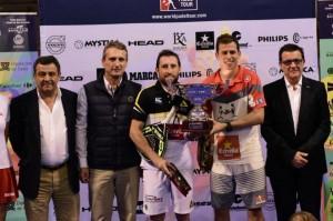 Paquito Navarro-Maxi Grabiel, vencedores del Estrella Damm San Fernando Open